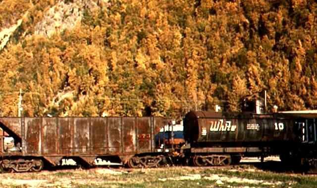 Freight Cars-White Pass & Yukon Route